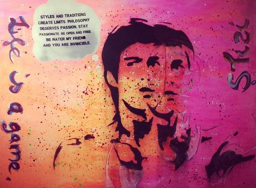 Bruce Lee by Tobias Schreiber