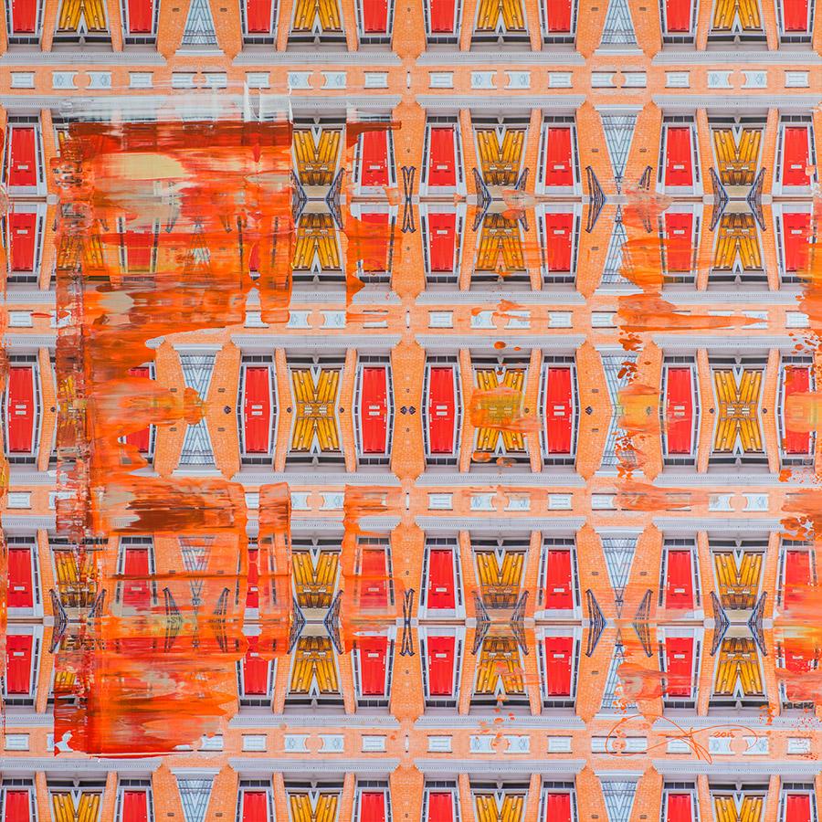 Chelsea Manhatten door townhouse © Tobias Schreiber