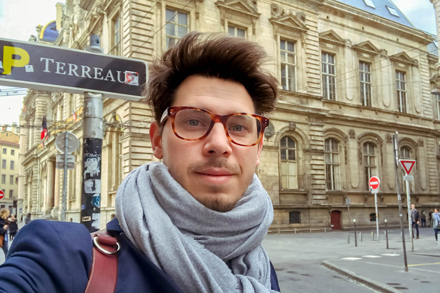 portrait Tobias Schreiber Lyon