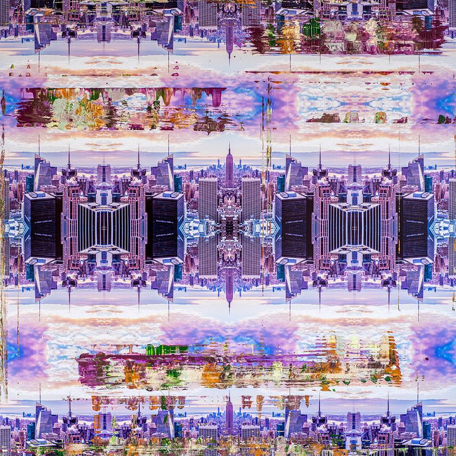 NYC Lila Empire © Tobias Schreiber